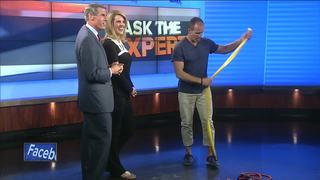 Ask the Expert: 4 no excuse exercises