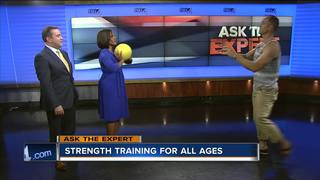 Ask the Expert: Strength training