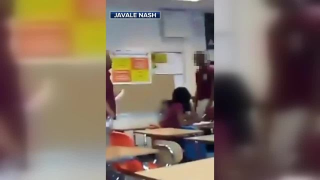 GRAPHIC: Teen arrested for punching teacher in classroom