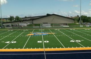 Lakeland University unveils new turf field