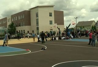 Bucks, Johnson Controls open new playground