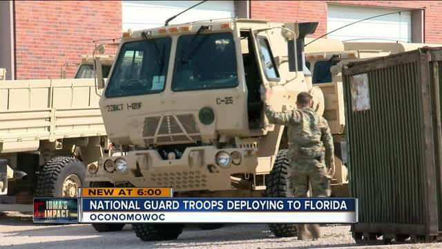 US National Guard, Army headed to Florida to help with hurricane relief