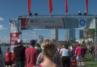 Annual 5k walk/run led by Bucks President Feigin