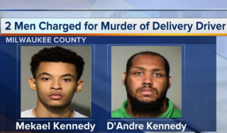 Two charged with murder of pizza delivery driver