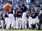Brewers beat Cubs 4-3 in extra innings