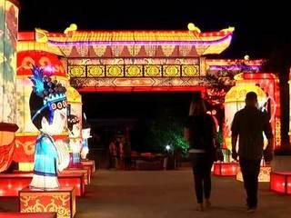 Parking improved at China Lights Festival