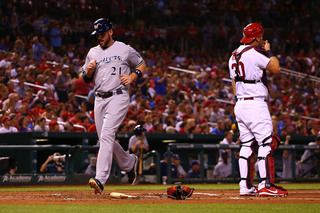 Vogt homers as Brewers stay alive for postseason