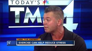 Ask the Expert: Exercise relieves stress