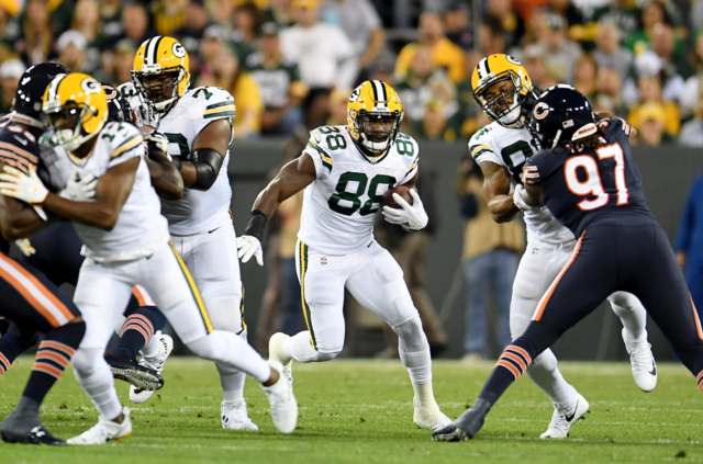RB Ty Montgomery Expected to Play vs. Vikings