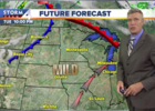 Breezy and highs in the 70s Wednesday