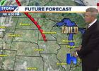 Highs in the 60s Thursday with a light breeze