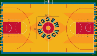 Bucks unveil throwback 'Return To MECCA' court
