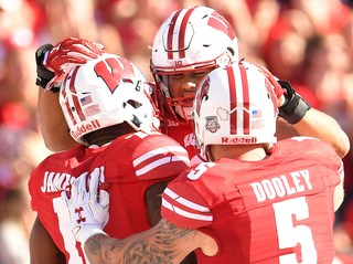 Badgers remain unbeaten with win over Maryland