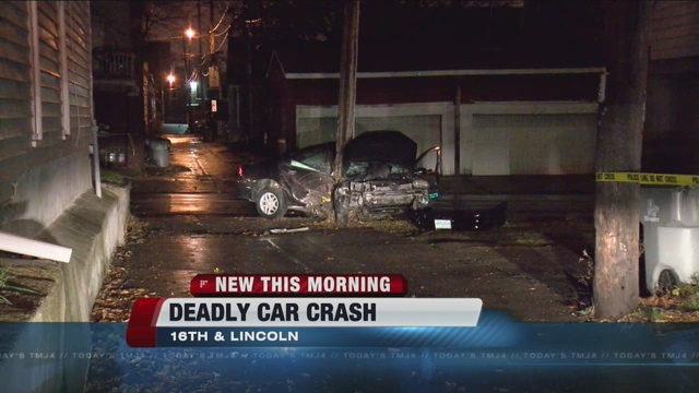 Man Killed In Crash Near 16th And Lincoln Tmj4 Milwaukee Wi
