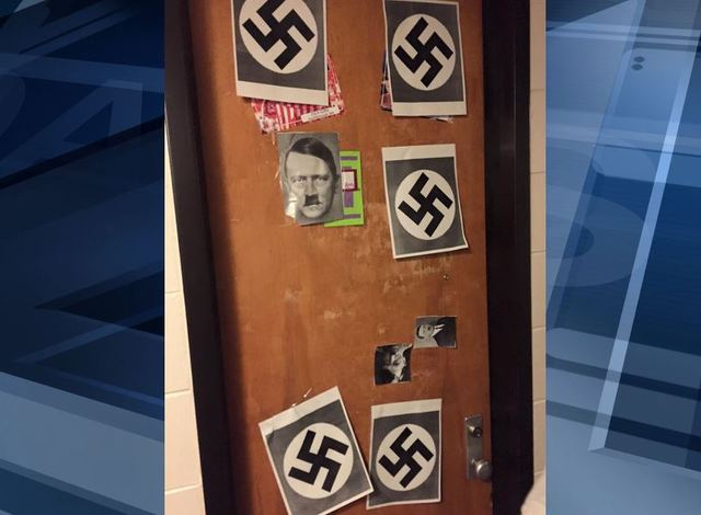 UW Madison Student Disciplined For Posting Swastikas, Hitler On Dorm Room  Door Part 52