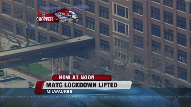 Matc Campus Map.All Clear At Matc After Report Of Person With Gun Tmj4 Milwaukee Wi