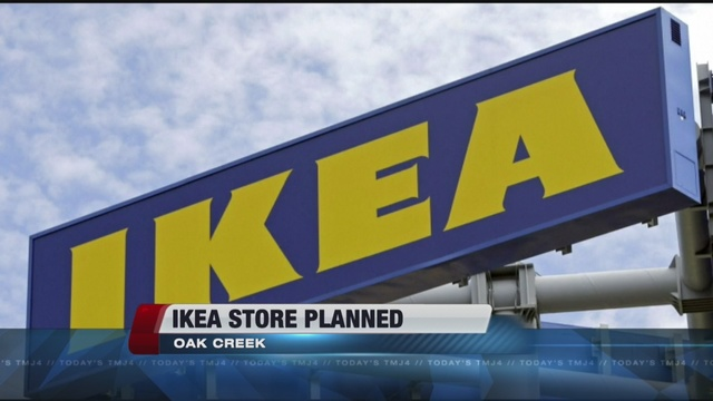 Ikea plans Oak Creek store. Report  Ikea plans Oak Creek store   TMJ4 Milwaukee  WI