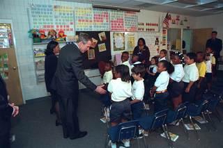 GALLERY: Pres. Bush's response to 9/11 attacks
