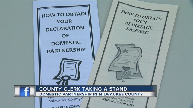 Milwaukee Co. to begin issuing domestic partnership declarations to ...