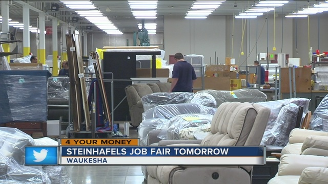 Steinhafels Job Fair Wednesday Looks To Fill More Than Two Dozen Positions