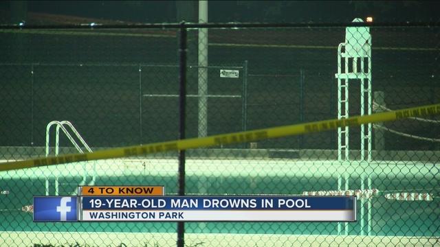 Man drowns at washington park pool in milwaukee tmj4 - Washington park swimming pool milwaukee ...