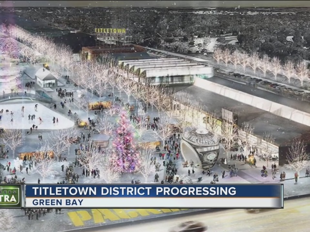 Town Planner Calendar Green Bay Wi : Excitement builds for green bay s titletown district