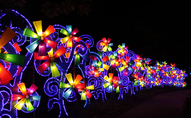 china lights at the boerner botanical gardens gallery