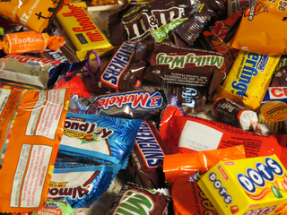 Options to sell back your excess Halloween candy