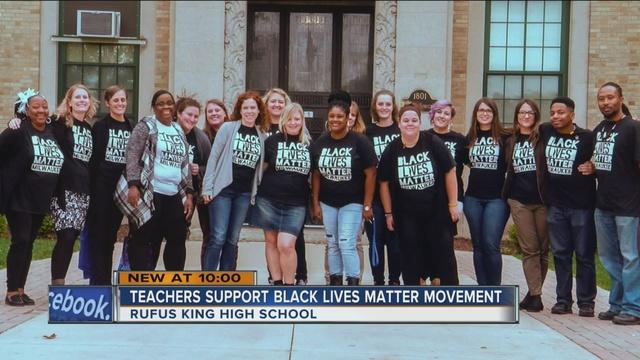 dozens of milwaukee teachers take a stand