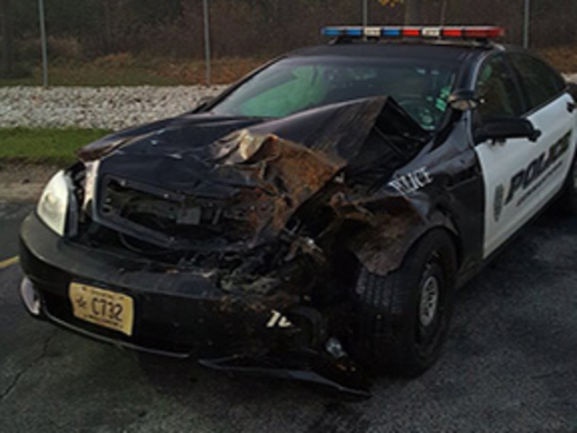 Watch Out For Deer: Germantown Patrol Car Totaled After