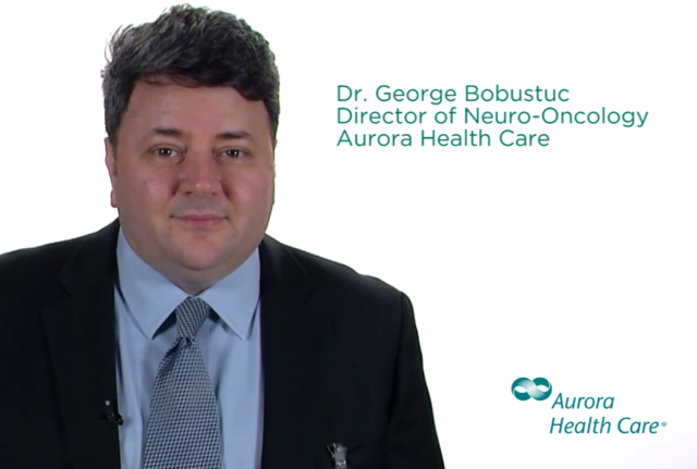 Dr. George Bobustic, Director of Neuro-Oncology