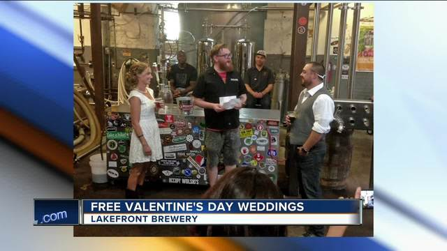 Lakefront Brewery Offering Free Weddings Vow Renewals On Valentine S Day