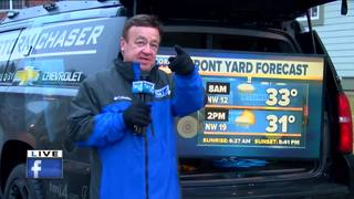 The TODAY'S TMJ4 Storm Chaser visits John Malan