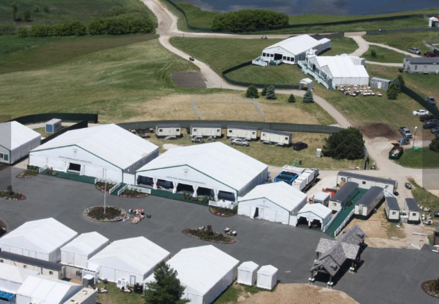 Tour Erin Hills Site Of The US Open With Chopper Gallery - Erin hills us open map