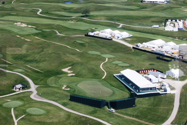 US Open Wheres The Best Spot To Watch The Action At Erin Hills - Us open grounds map 2017