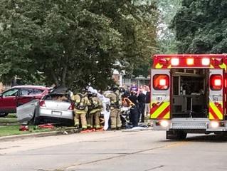 Car Accident    Near Milwaukee Wi On I