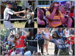 GALLERY: Awesome Summerfest Dancing Machines