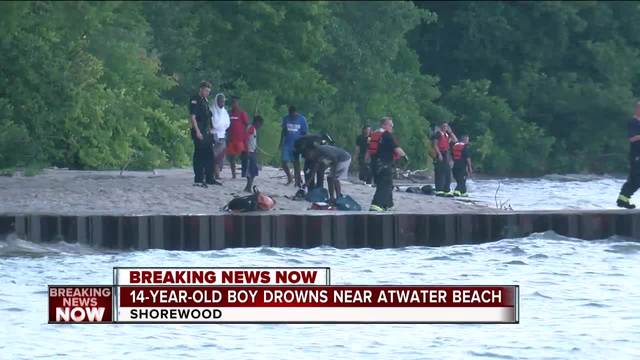 14-year-old drowns near atwater beach