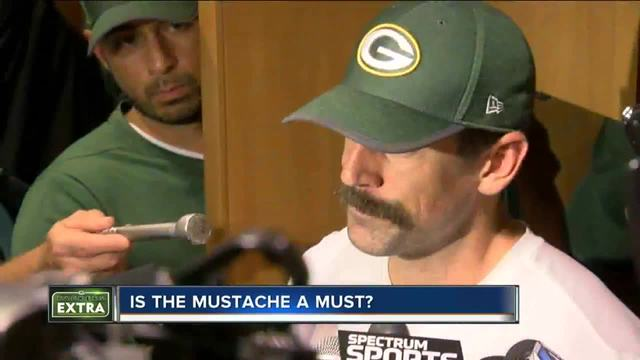 Do Fans Prefer Aaron Rodgers With Or Without A Mustache