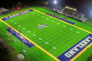 Lakeland University shows off new turf