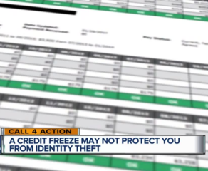 Call 4 Action: Freezing your credit report