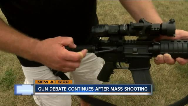 debate over gun control