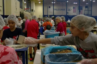'Feed My Starving Children' event draws 1,500