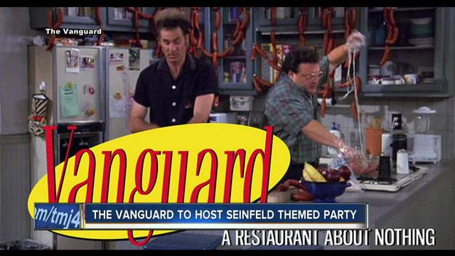 milwaukee bar transforming into seinfeld restaurant about nothing for halloween
