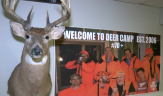 Hunkering down for deer camp in Wauwatosa