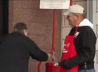 Salvation Army helps around the holidays