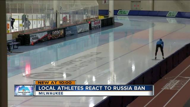 Russian sporting community react angrily to Winter Olympics ban