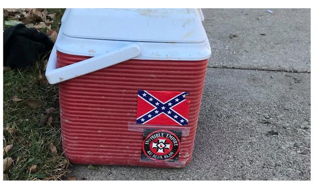 Equipment vandalized
