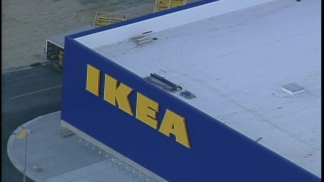 Store set to open Summer 2018. Iconic yellow  IKEA  letters installed in Oak Creek   TMJ4