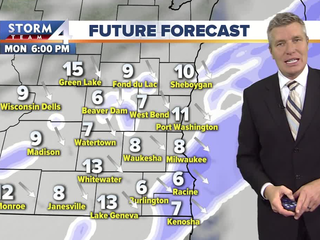 More snow expected Monday